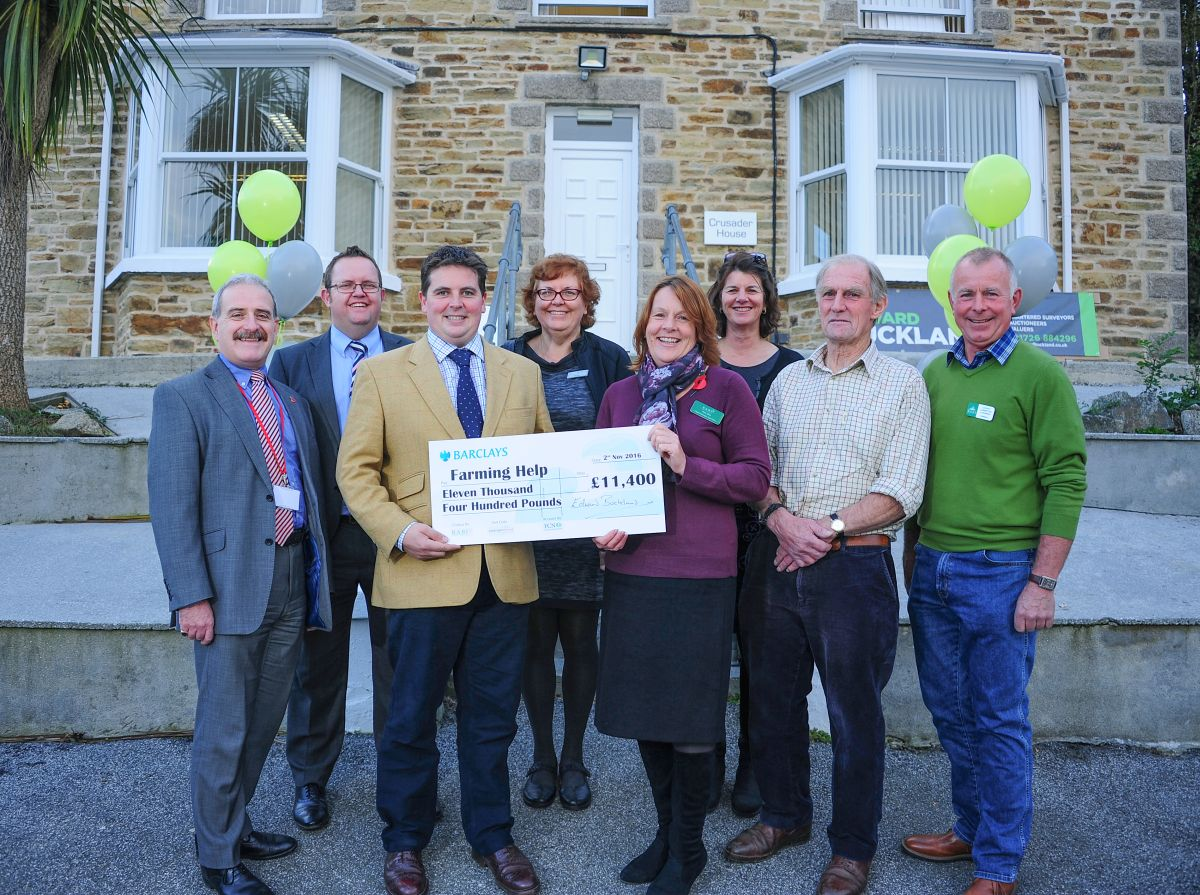 Auction raises over £11,000 for three farming charities