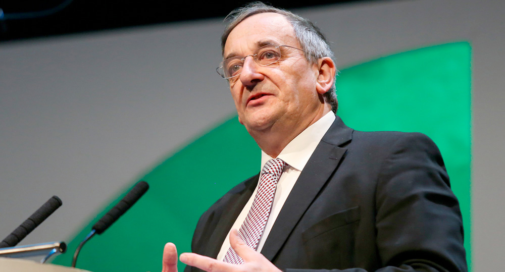 NFU president Meurig Raymond said he had 'constructive and robust discussions' with the Defra secretary on post-Brexit farming