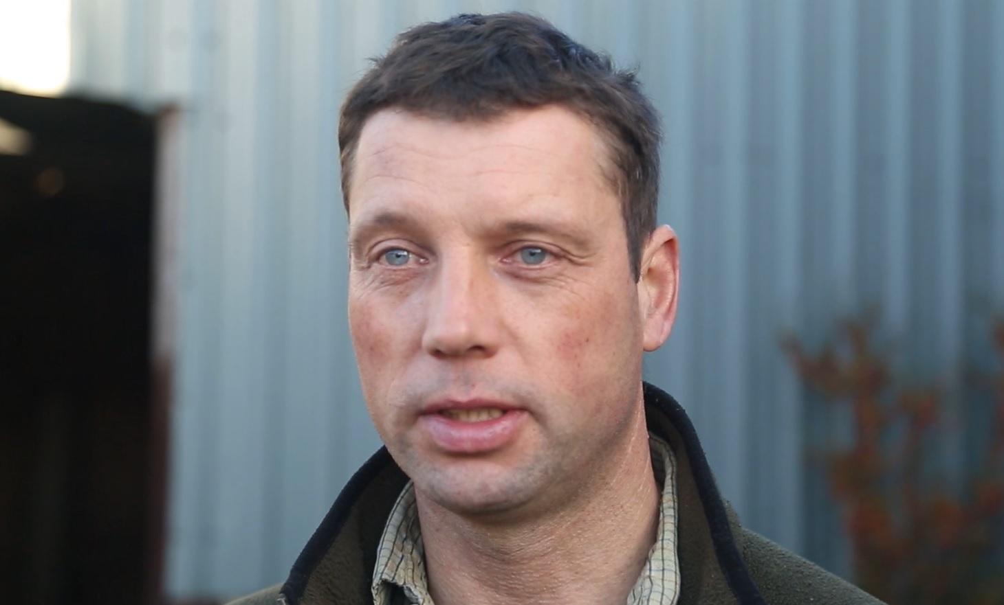 Richard Findlay, a hill farmer in North Yorkshire