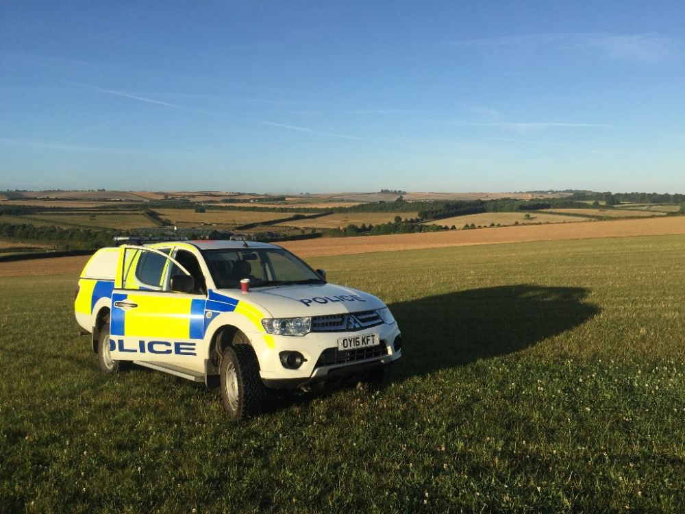 Somerset Police carry raid to recover stolen agricultural equipment