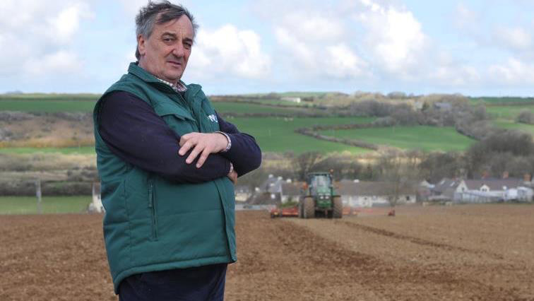 British farmers are the weakest link in the food supply chain, NFU president Meurig Raymond says