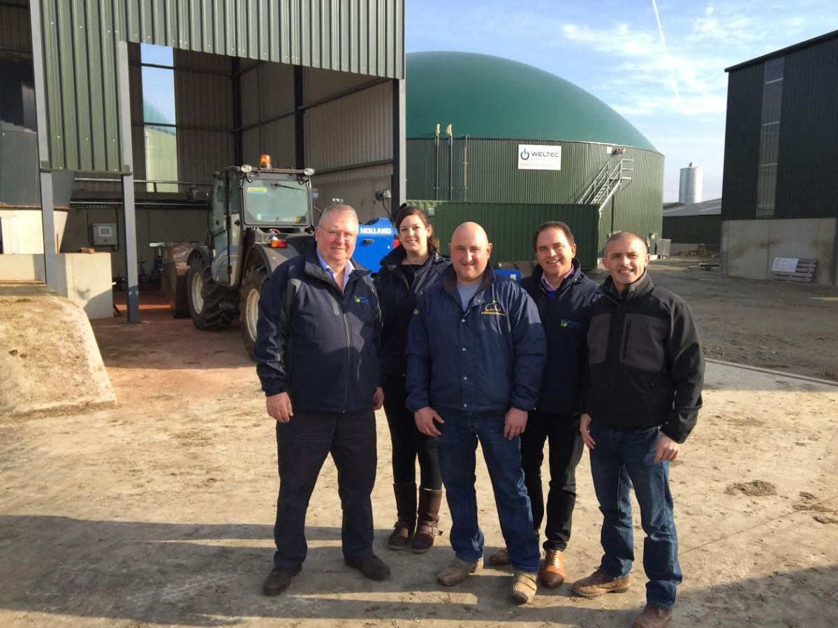 Anaerobic digestion plant investment future proofs dairy farm