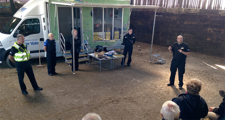 Farmers get update on rural crime prevention