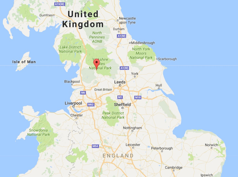 Bird flu has been found in backyard poultry near Settle in North Yorkshire (Photo: Google Maps)