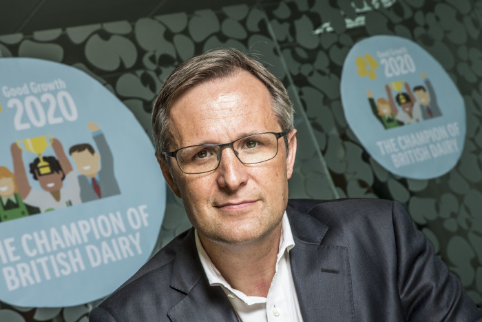Dairy industry cannot afford to be 'timid' in face of Brexit, Arla boss warns