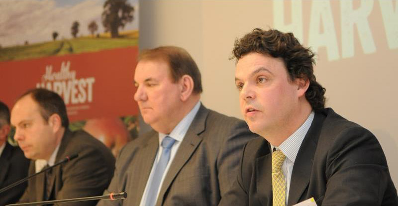 New faces at NFU urge government to not put farmers at disadvantage over Brexit