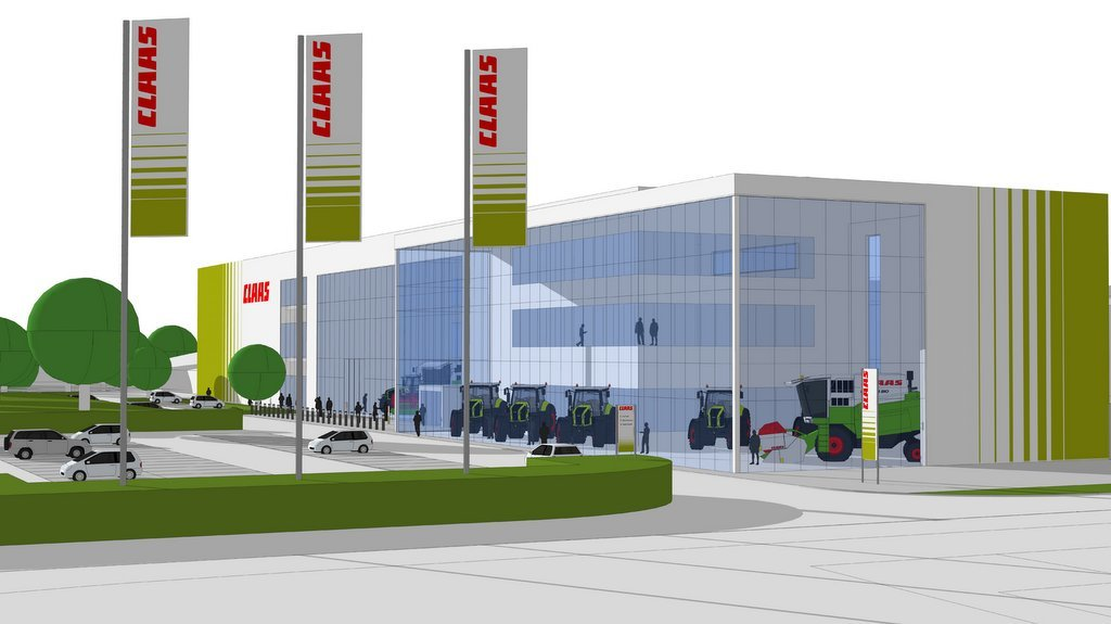 Claas to build new million pound 'state-of-the-art' headquarter in Suffolk
