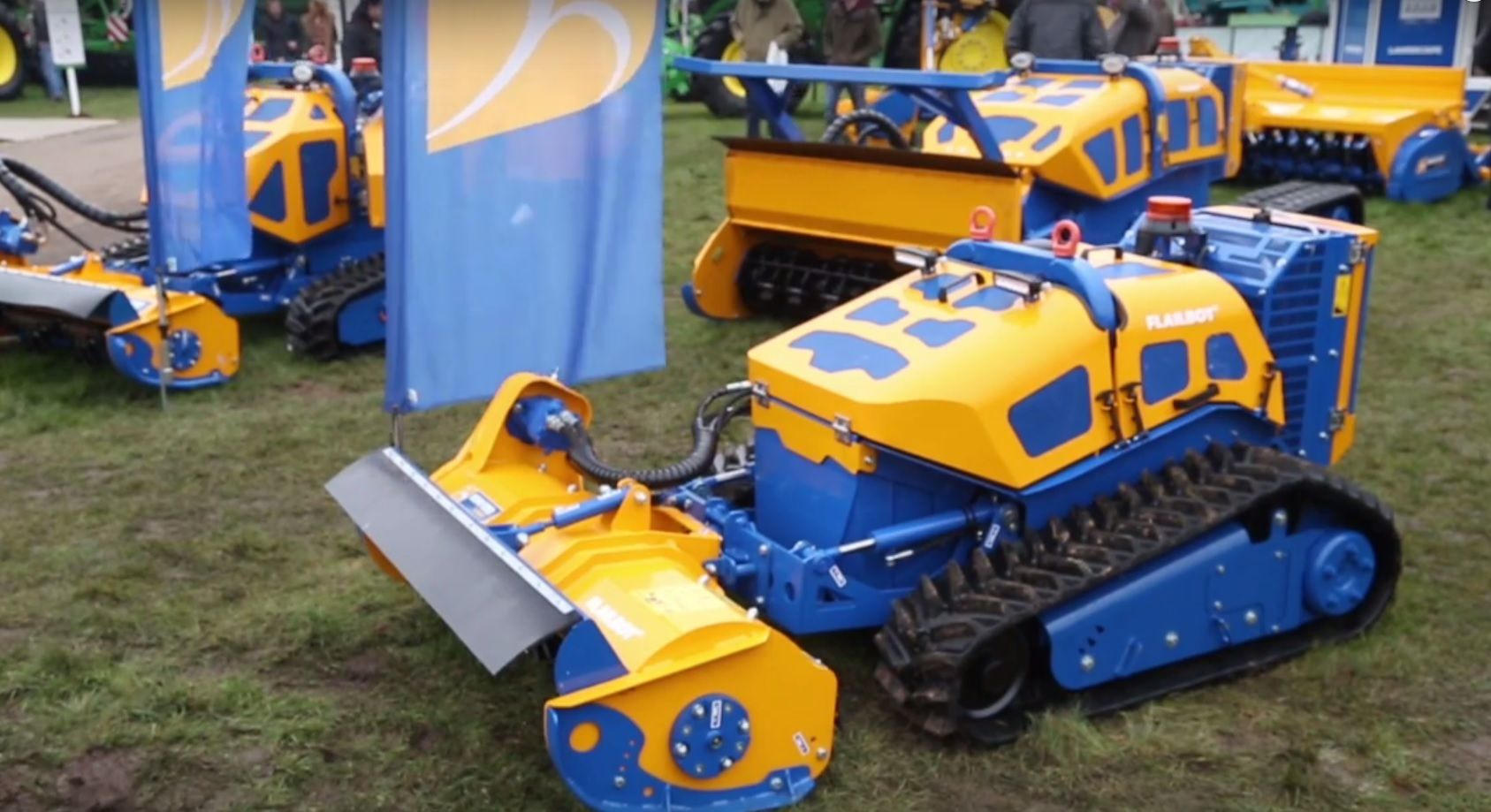 LAMMA 2017: A peak at Bomford Turner's wirelessly operated 'Flailbot'