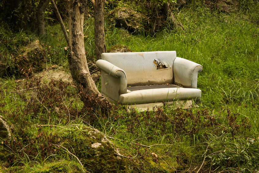 UK is being 'blighted' by a fly-tipping epidemic, NFU says