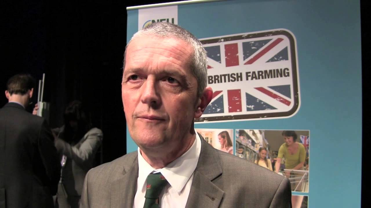 National Farmers' Union Vice President Guy Smith