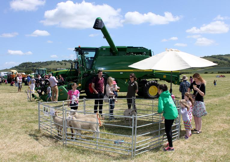 The main aim of the event is to encourage farmers to enagage with the public (Photo: Open Farm Sunday 2015, Oxfordshire)