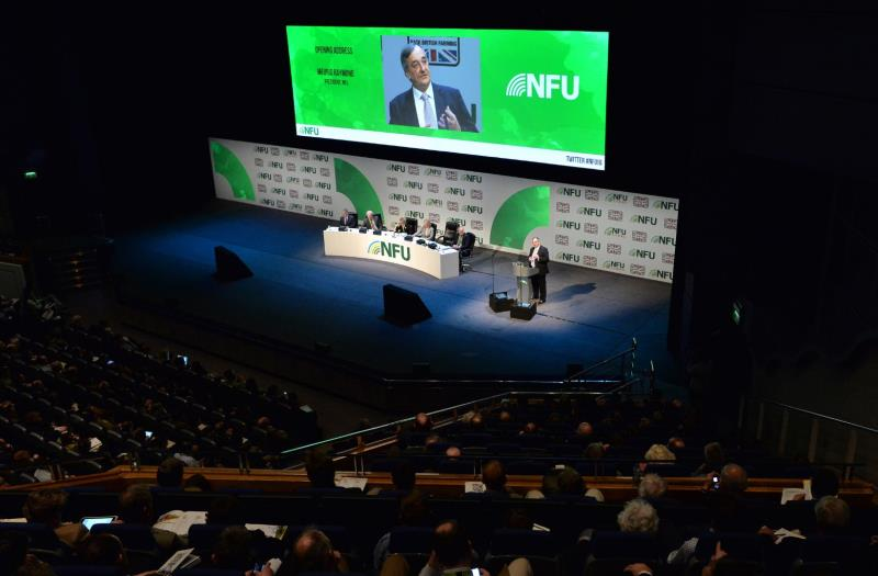 NFU urges government to give British farming a more certain future