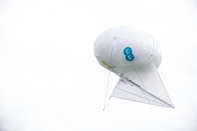 EE to use helium balloons to bring 4G to Britain's rural communities