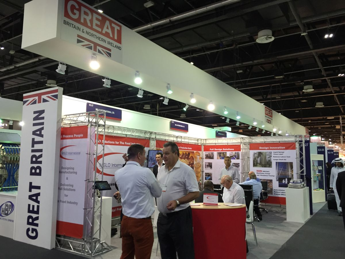 Farming minister George Eustice attends food trade show in Dubai to boost British exports