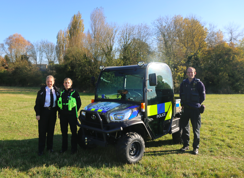 Thames Valley Police steps up fight on rural crime with Kubota ATV