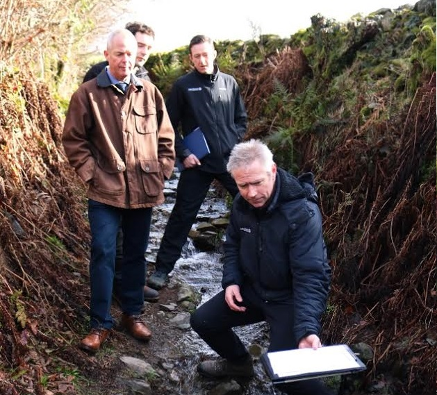 Rural Payments Agency tours £3m flood recovery project