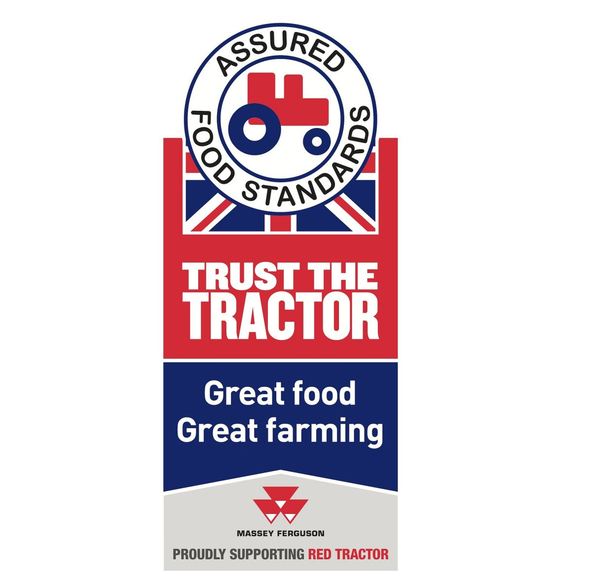 'Great Food, Great Farming': Red Tractor arms farmers with 15,000 trailer stickers
