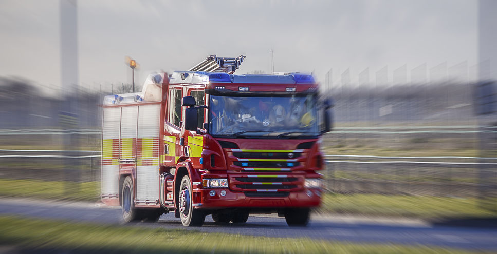 Six crews tackled the fire in a chicken shed on the fringe of Carlisle (Stock photo)