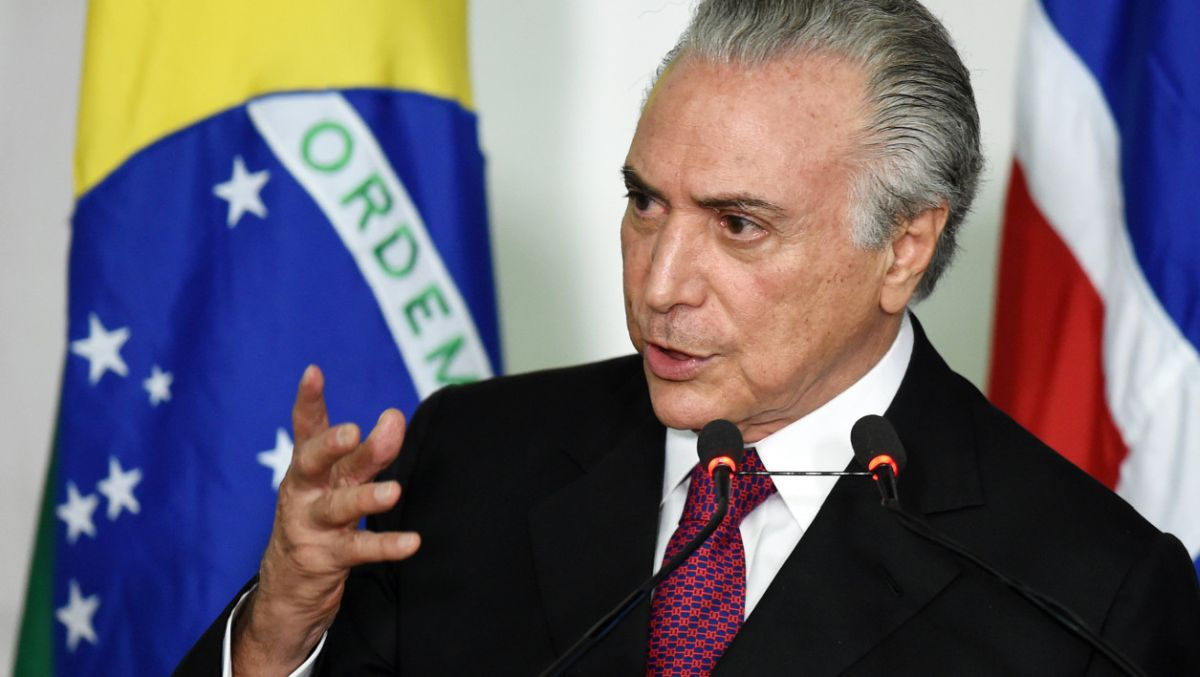 Brazil's President Michel Temer tried to reassure partners on Sunday 19 March