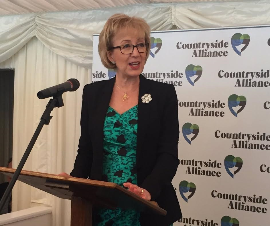Andrea Leadsom hands out 2016 'Rural Oscars' at a Parliamentary reception