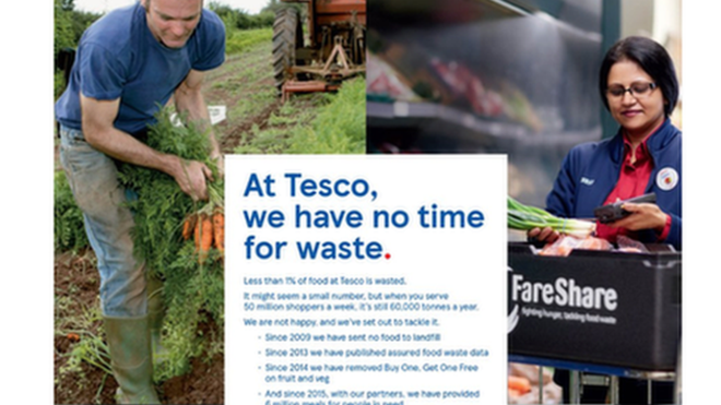 'Marketing blunder': Farmer orders Tesco to remove picture of him on a marketing campaign