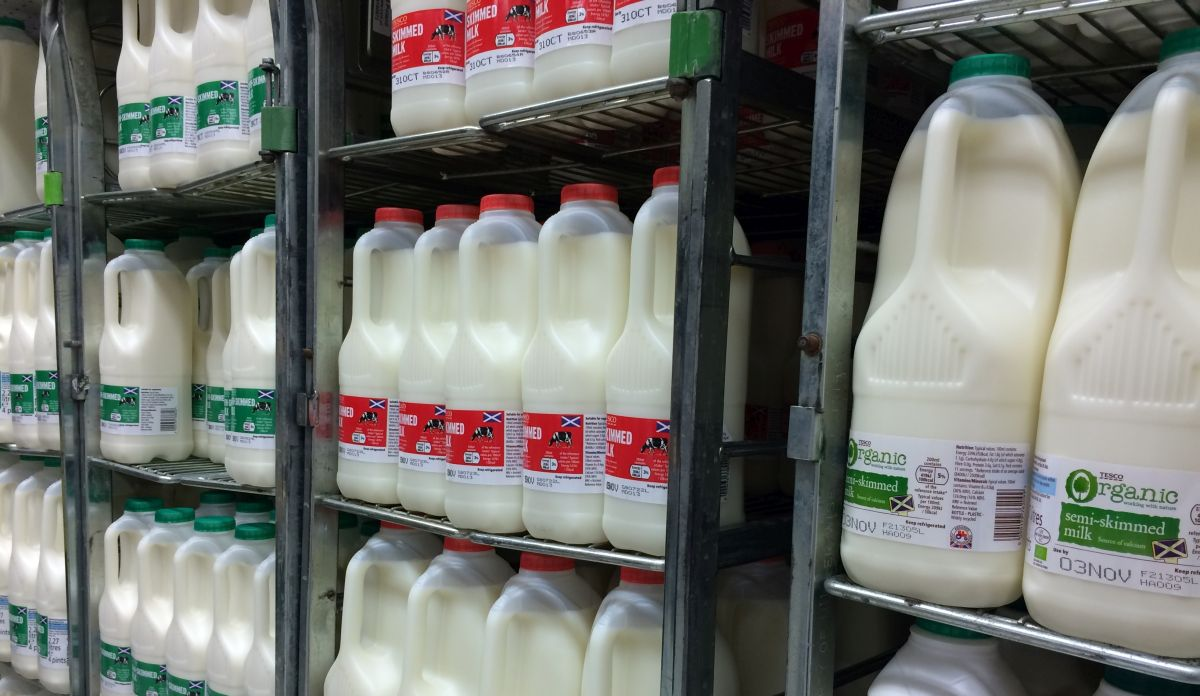 Iodine levels in organic milk now ahead of conventional milk, study shows