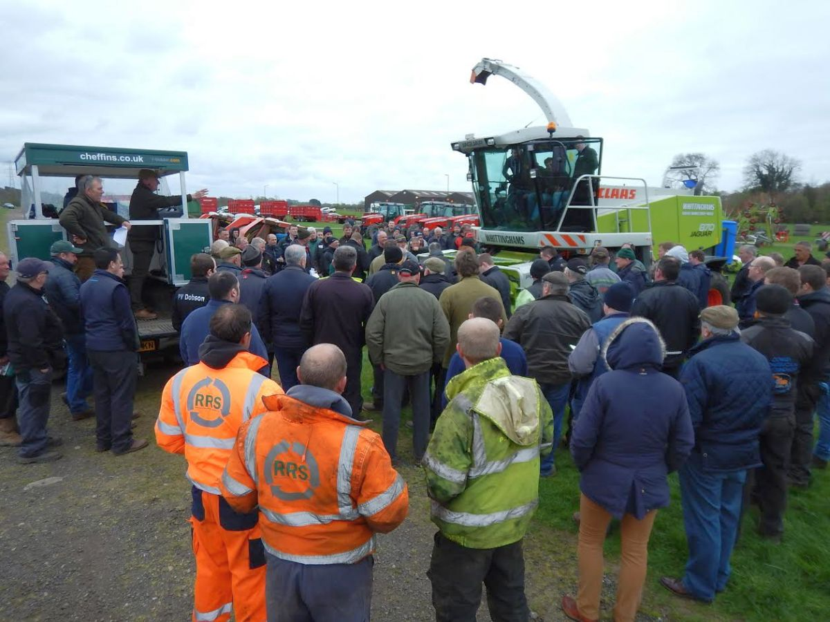 Agricultural machinery sale generates over £1.6 million