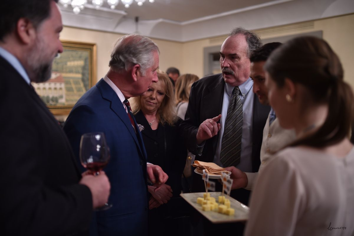 Prince Charles gives royal seal of approval to West Country meat and cheese
