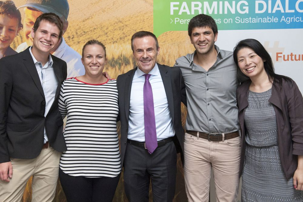 100 young leaders to address global food security challenges