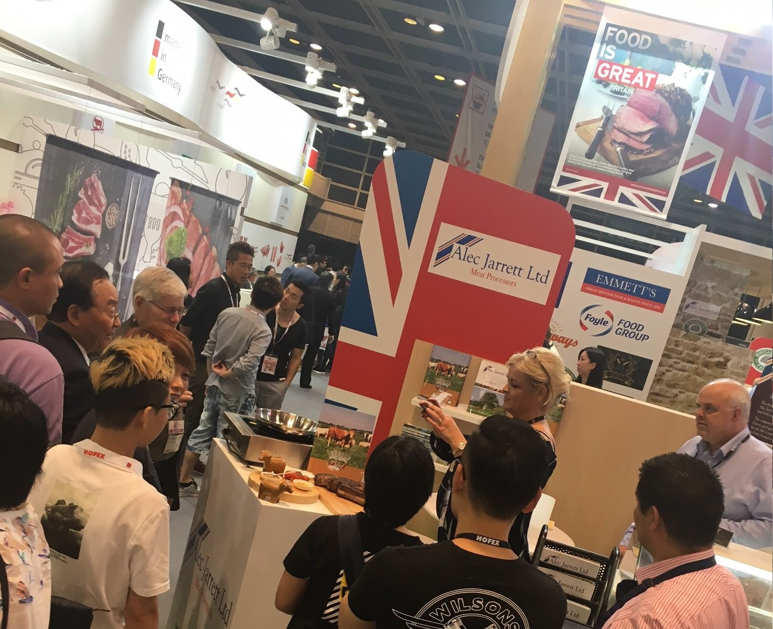 British meat on oriental adventure to woo Asian audiences