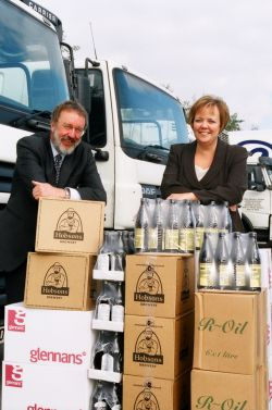 HEART of ENGLAND fine foods stands and delivers