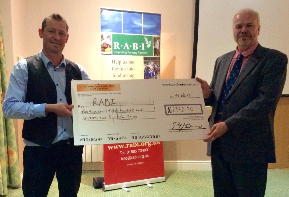 Beef dinner event raises £3000 for farming charity
