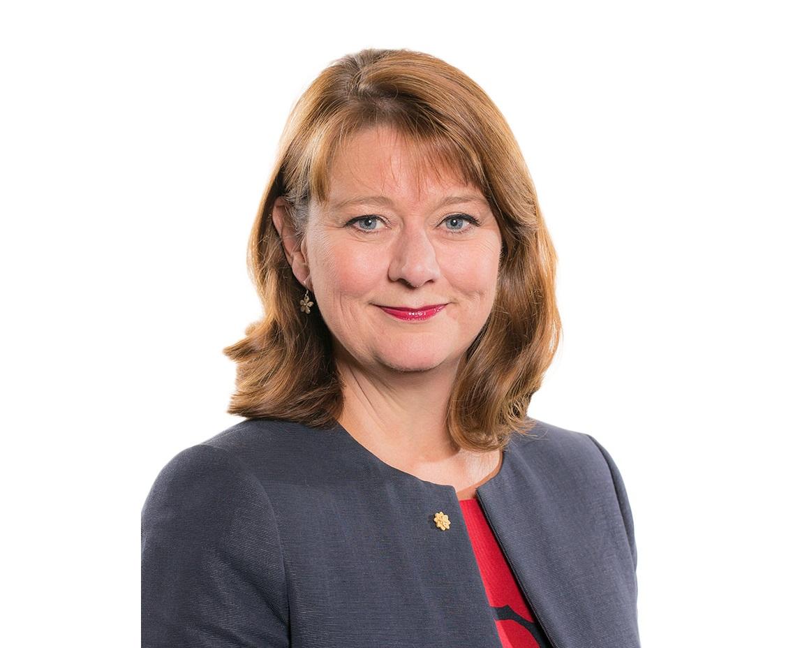 Leanne Wood, Leader of Plaid Cyrmu