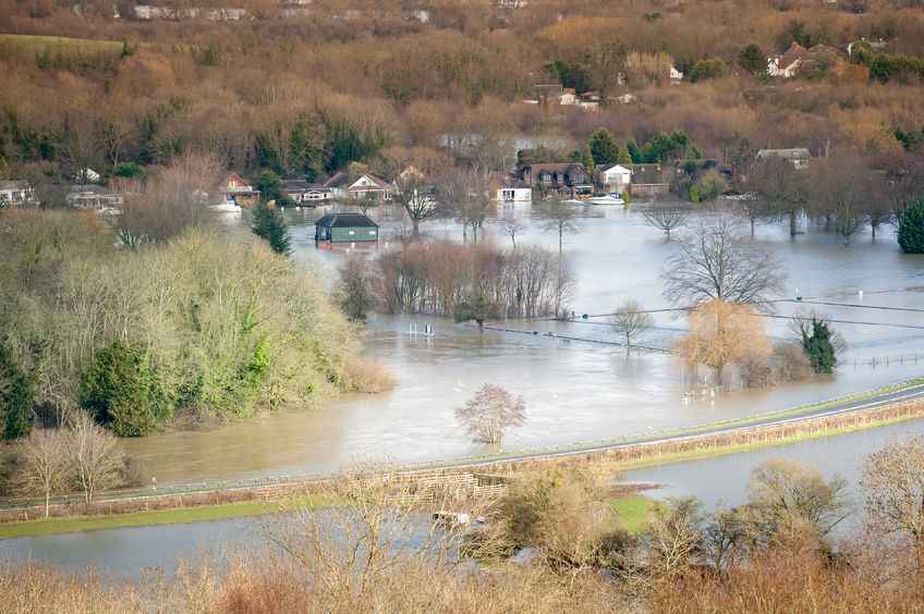 Solutions to improve flood resilience 'vital' for farming, NFU says