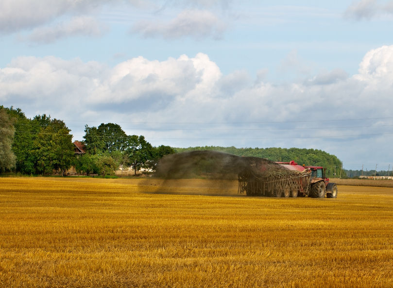 700,000 microfibres can be found in biosolids used to spread fertiliser on farmland