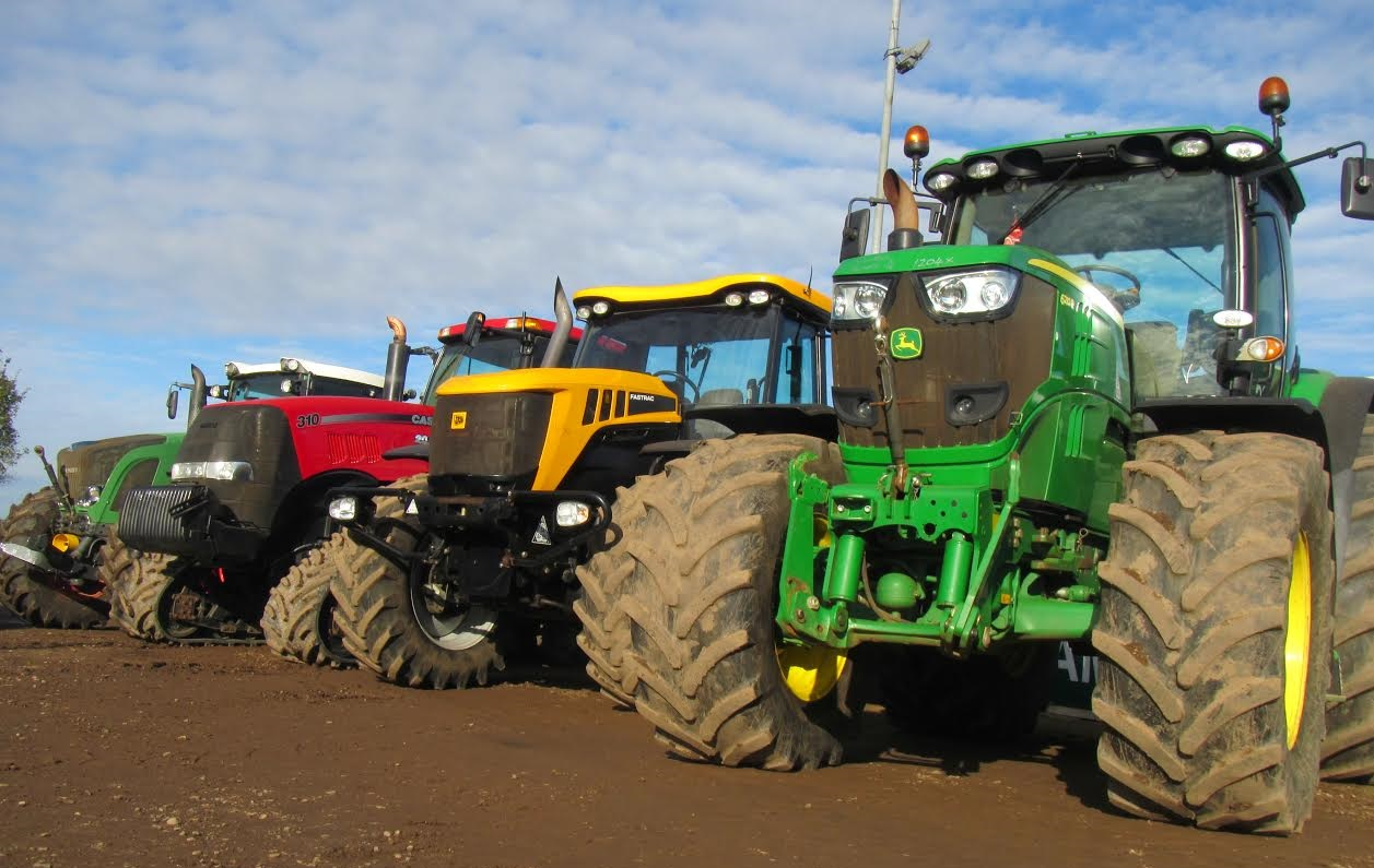 UK tractor sales increase by 4.1 per cent