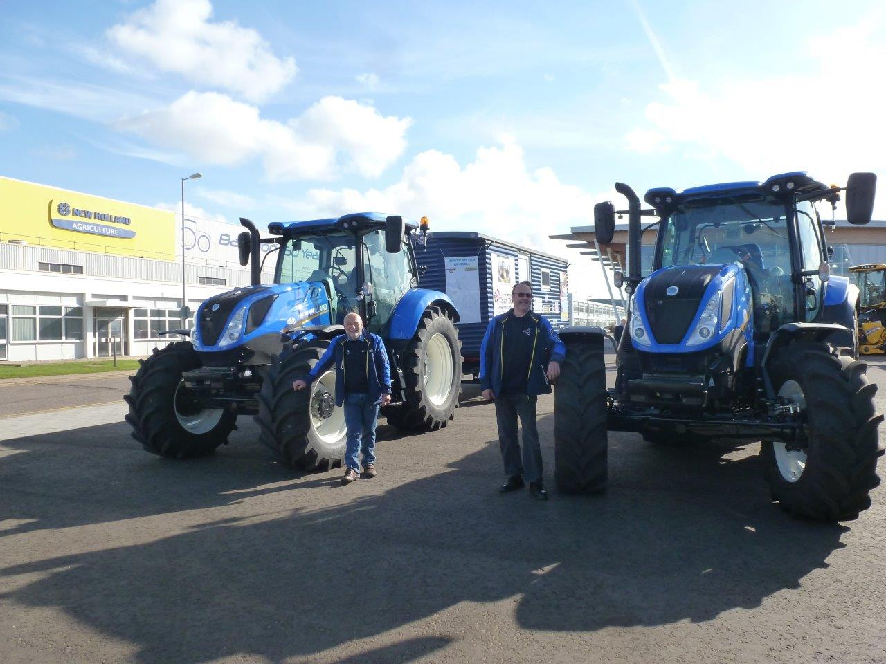 Tractor enthusiasts raise £13,000 after 5,000 mile tractor journey