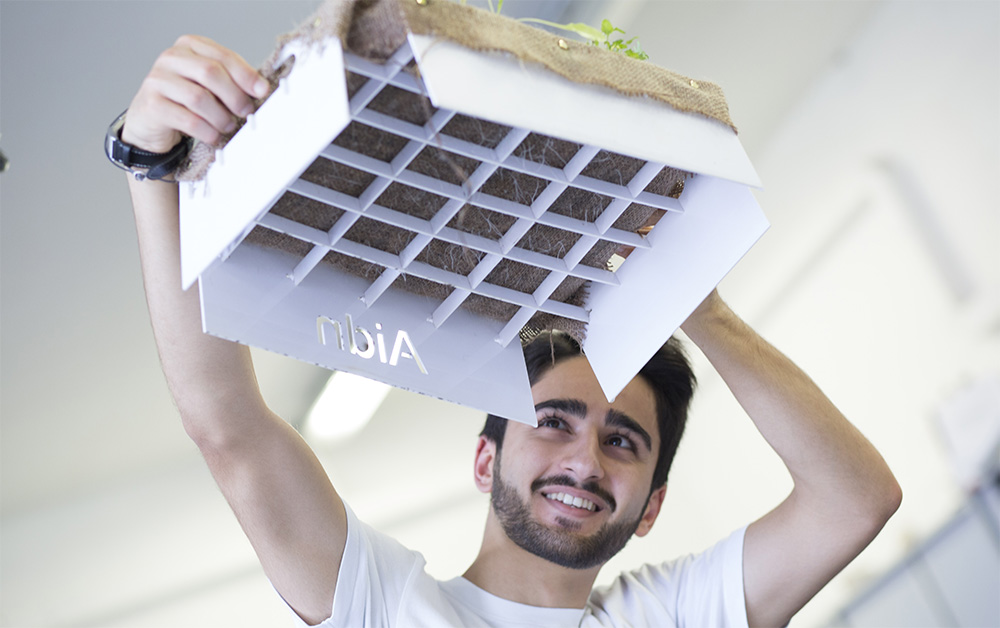 Student uses NASA technology to grow crops without soil for developing countries