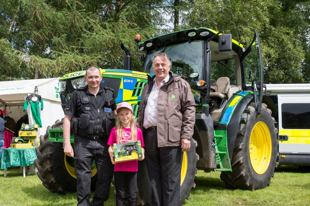 'Bobby on the beat' - police tractor gets its name from 8-year-old schoolgirl