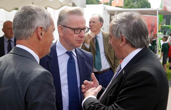 NFU President meets Gove and outlines 'critical priorities' for farming