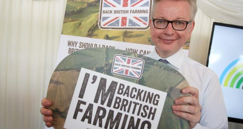 Michael Gove vows to back British farming at NFU Westminster reception