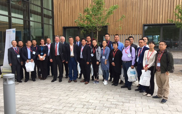 China delegation visits UK to learn about lamb production