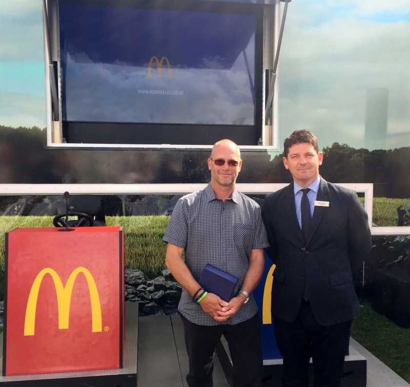 Norfolk pig farmer wins McDonalds Farmer of the Year