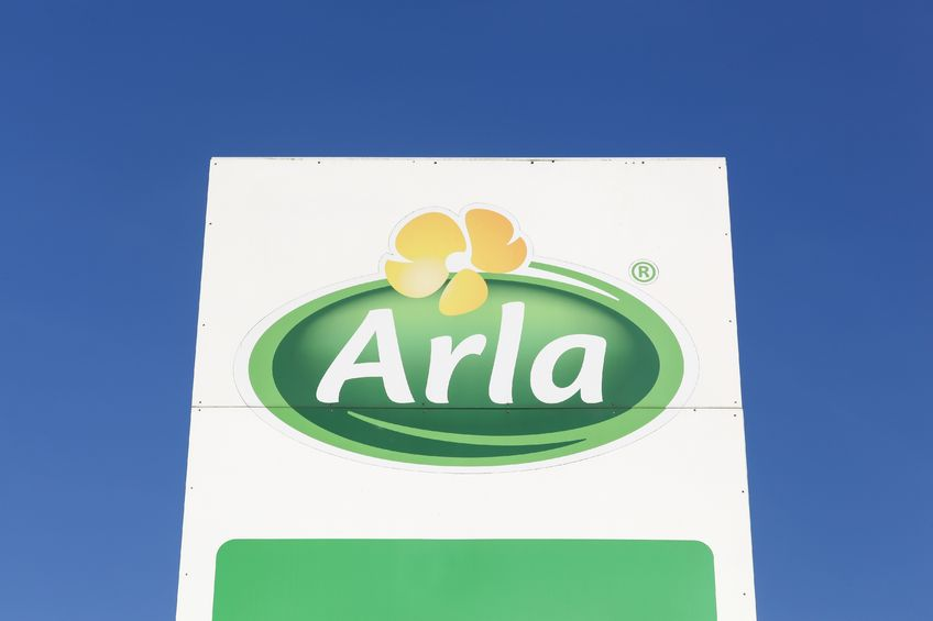 Arla raises August milk price by under one pence