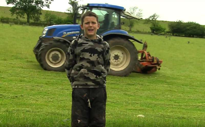 11-year-old creates video explaining why people should back Welsh farming