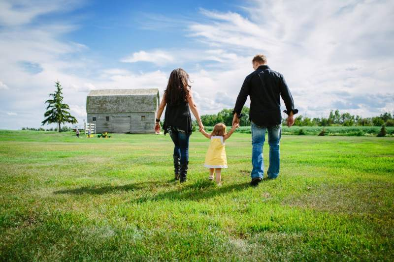 Growing up on a farm brings both challenges and blessings