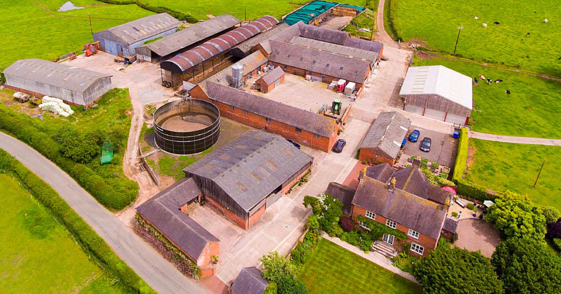 Picturesque 283-acre Shropshire farm listed for sale