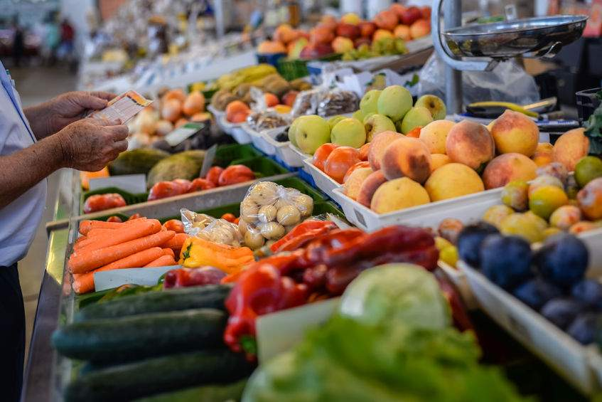 77% of people are unaware of how much food is imported and exported in the UK