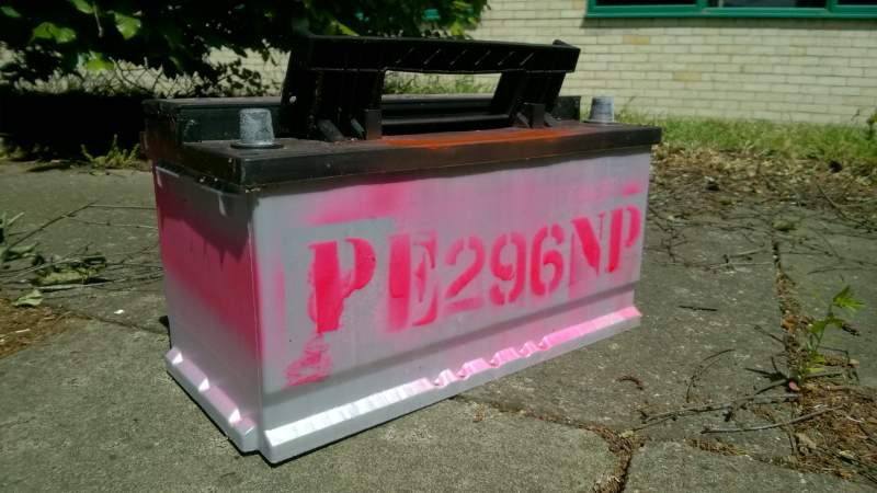 Police urge farmers to 'paint it pink' as part of crackdown on battery thefts
