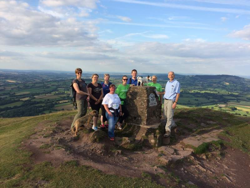 In total, the group aims to walk over 70,500 miles and raise £15,000 for Farm Africa